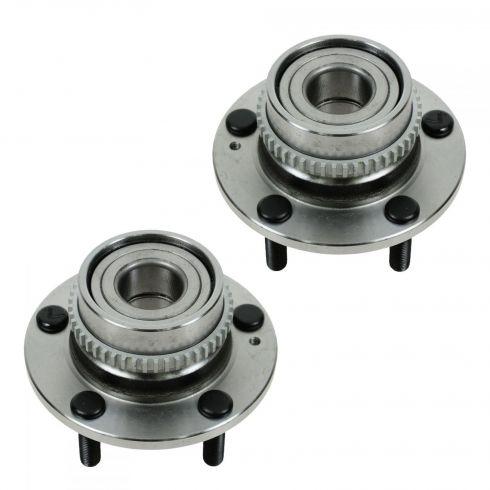 05-09 Hyundai Tucson; 05-10 Kia Sportage (w/FWD, w/ABS) Rear Wheel Bearing & Hub Assy PAIR