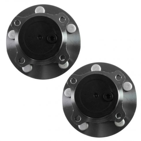 04-08 Mazda 3 (w/o ABS) Rear Wheel Bearing & Hub Assy PAIR