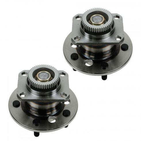 87-90 GM FWD Multifit (w/ABS) Rear Wheel Bearing & Hub Assy PAIR