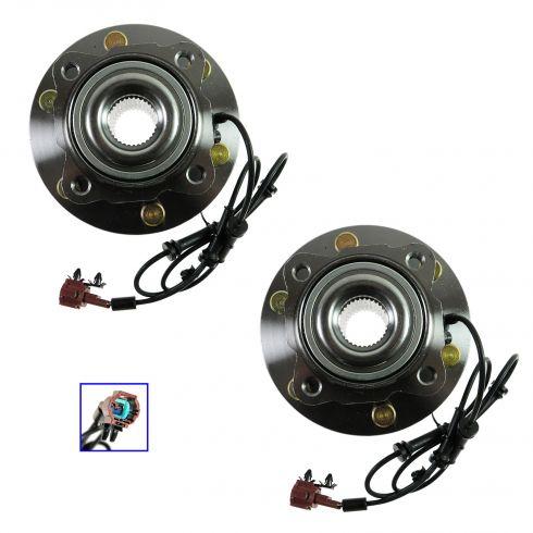 04-12 Nissan Pathfinder Armada, Infiniti QX56 Rear Wheel Bearing & Hub Assy PAIR