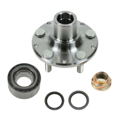 98-02 Forester; 93-99 Impreza; 90-99 Legacy w/ABS Front Hub, Bearing, & Seal Kit LF = RF