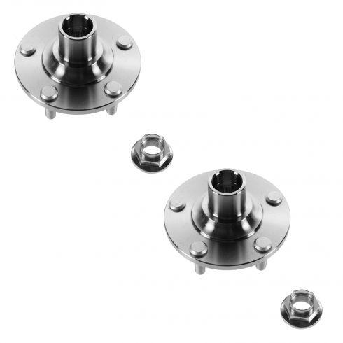01-03 Mazda Protege (w/Rear Disc Brakes); 02-03 Protege 5 (5 Lug) Front Wheel Hub PAIR