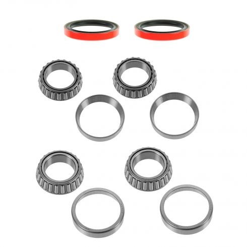 96-99 SLX; 94-01 Passport; 81-94 Isuzu Multifit Front Inner & Outer Wheel Bearing, Race, Seal Kit