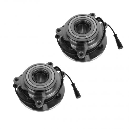 99 Land Rover Discovery Series II; 00-04 Discovery Front Wheel Bearing & Hub PAIR