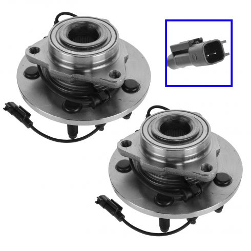 09-10 Dodge Ram 1500; 11 Ram 1500 (2WD or 4WD) Front Wheel Bearing & Hub Assy PAIR