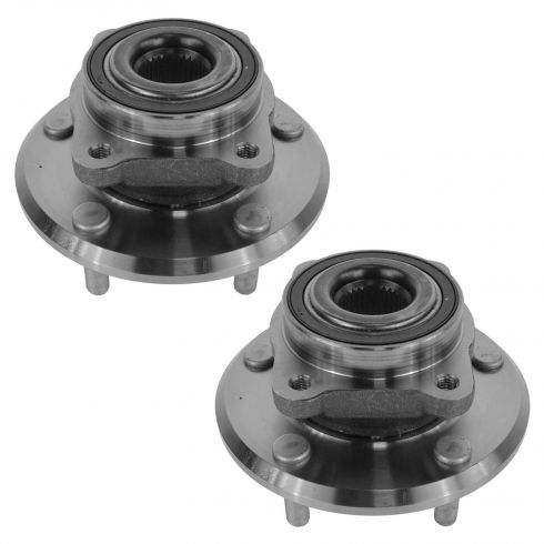 09-14 Dodge Journey Front Wheel Bearing & Hub Assy PAIR