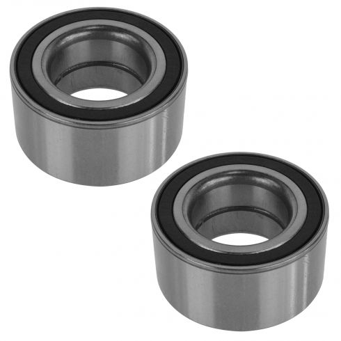 06-08 BMW 3 Series; 06-10 5 Series; 04-13 X3; 00-09 X5 Front Wheel Bearing Pair
