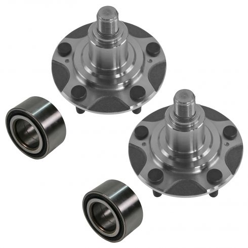 00-09 Honda S2000 Front Wheel Hub & Bearing PAIR