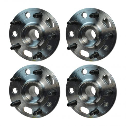 10 Allure; 10-15 Lacrosse; 13 Malibu; 11-14 Regal; 13-15 XTS;10-11 9-5 Front Hub & Bearing (Set of 4
