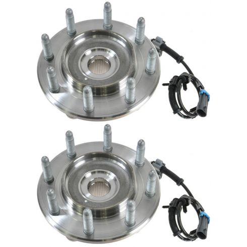 01-07 GM Truck HD Multifit 2WD Front Hub & Bearing LH = RH (AC DELCO) PAIR