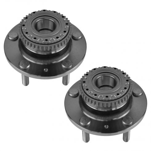 03 (from 10/14/02)-06 Hyundai Tiburon w/ABS Rear Wheel Bearing & Hub PAIR (Hyundai)