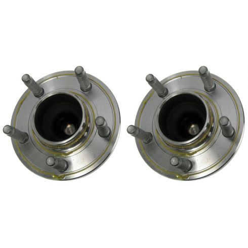 04-11 Ford Crown Vic; 04-10 Towncar, Grand Marquis FT Wheel Bearing & Hub LF - RF (MOTORCRAFT) PAIR