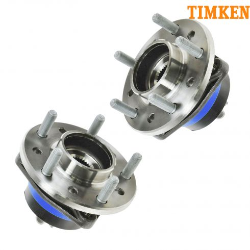 97-05 GM Midsize Hub Assembly Front RH or LH PAIR (TIMKEN)