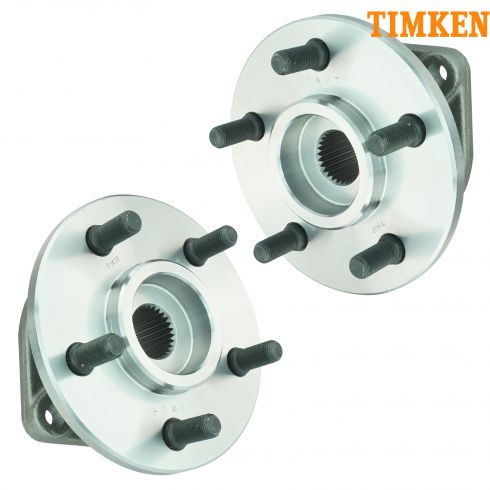 90-99 Jeep Vehicles Front Hub & Bearing Assy PAIR (TIMKEN)