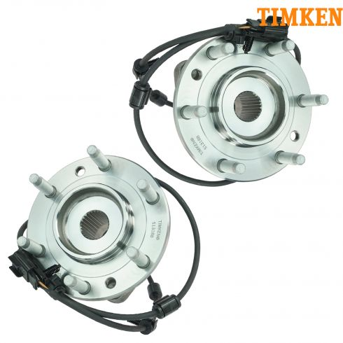 03-06 Chevy SSR Front Hub & Bearing Assy w/ABS PAIR (TIMKEN)