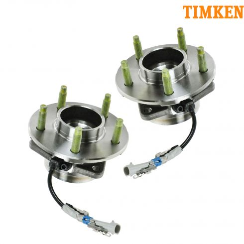 02-07 GM FWD Mini Vans w/ABS Front Hub & Bearing PAIR (TIMKEN)