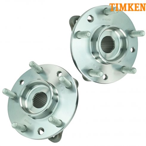 84-96 Chevy Corvette Rear Hub & Bearing Assy PAIR (TIMKEN)