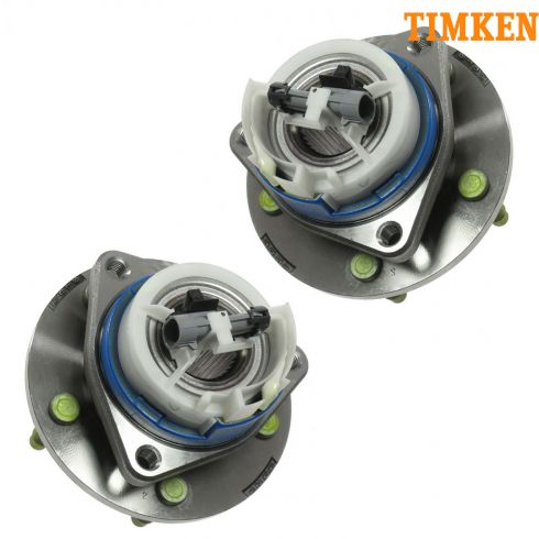 01-05 GM Midsize w/ABS Front Hub & Bearing (w/Plastic Sensor Wire Clip) (Timken) PAIR