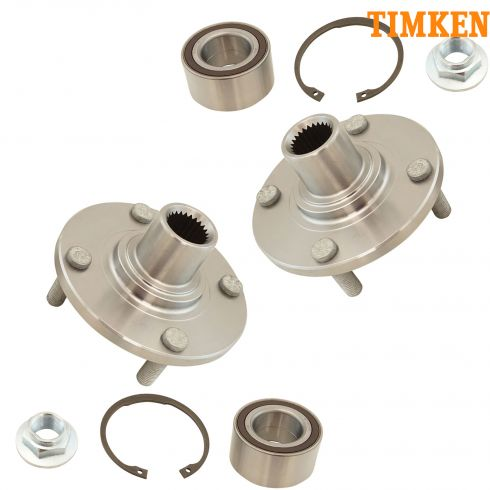 00-06 Ford Focus Front Hub & Bearing Repair Kit (Timken) PAIR