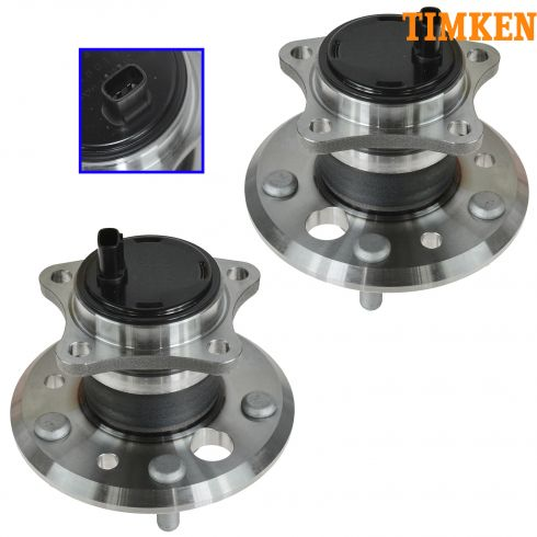 02-07 Toyota Camry Hub Bearing Rear With ABS (Timken) PAIR