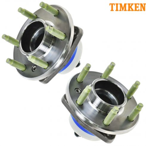 TKSHF00035 - Front hub that is alos used in the REAR (Timken) PAIR