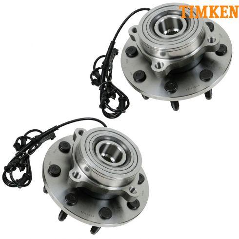 06-08 Dodge Ram PU Multifit Front Wheel Bearing & Hub Assy LF = RF (Timken) PAIR