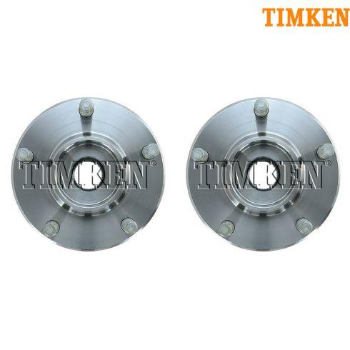 04-05 Mazda 3 Front Wheel Bearing & Hub Assy LF = RF (Timken) PAIR