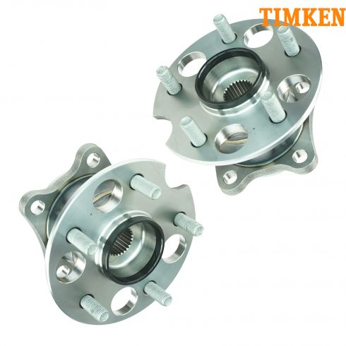 04-10 Highlander; 04-09 Lexus RX Series Rear Wheel Bearing & Hub Assy (Timken) PAIR
