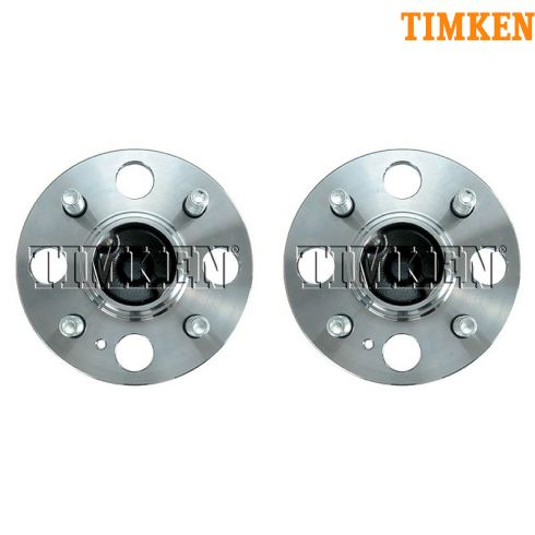 06-11 Hyundai Accent, Kia Rio, Rio 5 Rear Wheel Hub & Bearing (w/o ABS) LR = RR (Timken) PAIR