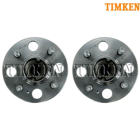 06-11 Hyundai Accent, Kia Rio, Rio 5 Rear Wheel Hub & Bearing (w/ABS) LR = RR (Timken) PAIR