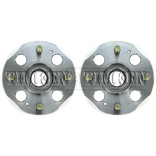 1991-97 Honda Accord SW w/Drum Brakes w/o ABS Rear Wheel Hub & Bearing PAIR