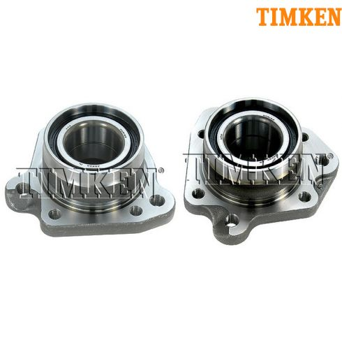1997-01 Honda CR-V Rear Wheel Hub Bearing Module PAIR (Timken)