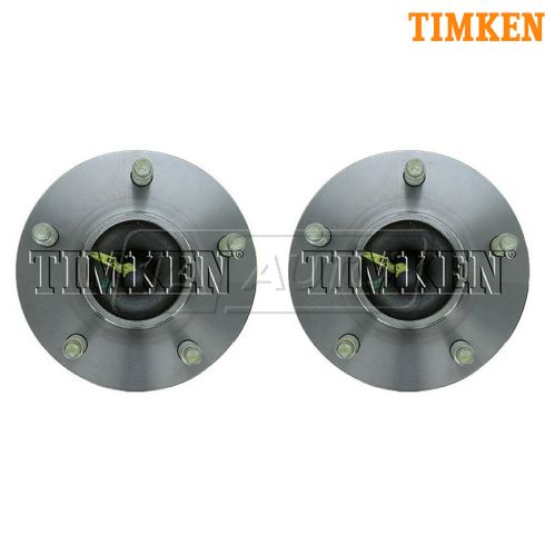 2004-11 GM Mid Size FWD w/5 Lug & ABS Rear Wheel Hub & Bearing PAIR (Timken)