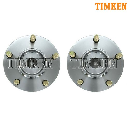 2006-11 Mitsubishi Eclipse; 04-11 Galant w/ABS Rear Wheel Hub & Bearing PAIR (Timken)