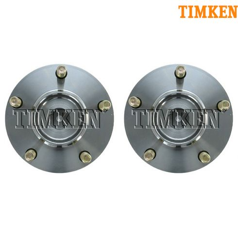 2004-08 Galant w/o ABS Rear Wheel Hub & Bearing PAIR (Timken)