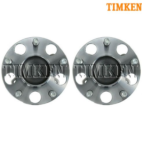 2006-10 Honda Civic LX GX Rear Wheel Bearing & Hub PAIR (Timken)