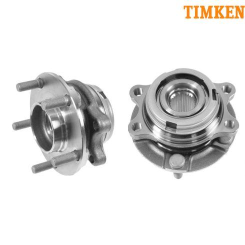 03-07 Nissan Murano; 04-09 Quest Front Wheel Hub & Bearing LF = RF PAIR (Timken)