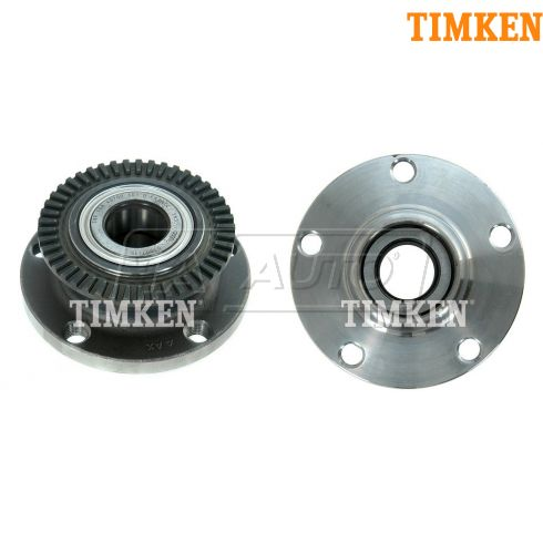 02-09 Audi A4 FWD Rear Wheel Hub & Bearing LR = RR PAIR (TIMKEN)