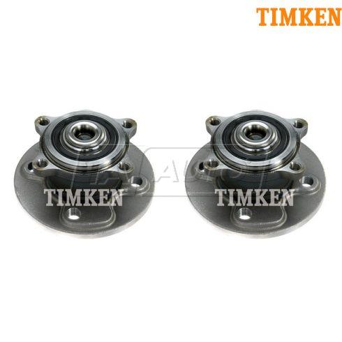 02-10 Mini Cooper Rear Wheel Hub & Bearing LR = RR PAIR (TIMKEN)