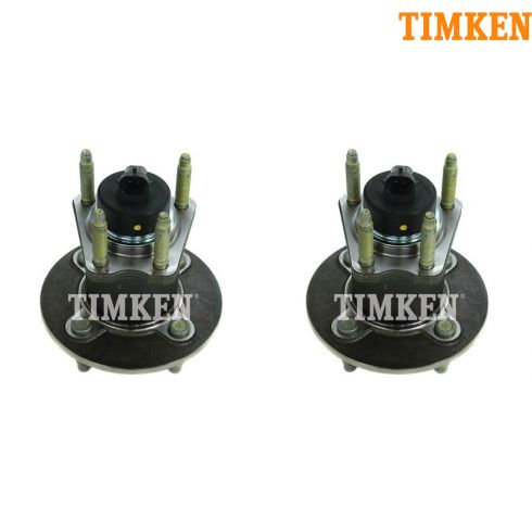 05-10 GM Mid Size FWD 4 Lug Rear Wheel Hub & Bearing w/ABS PAIR (Timken)