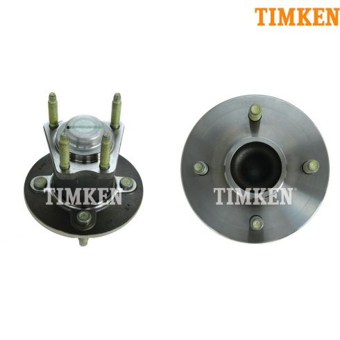 05-10 GM Mid Size FWD 4 Lug Rear Wheel Hub & Bearing w/o ABS PAIR (Timken)