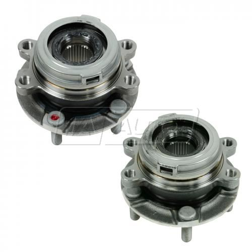 09-11 Nissan Murano; 11 Quest Front Wheel Bearing & Hub Assy PAIR (Timken)