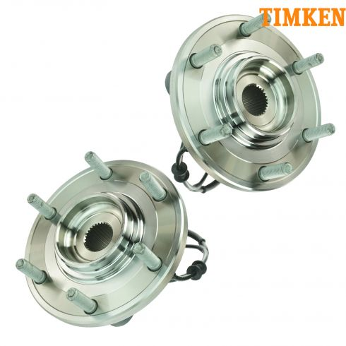 08-10 Infinity QX56, Nissan Armada, 08-11 Titan (2 or 4WD) Front Whl Bearing & Hub Asy PAIR (Timken)
