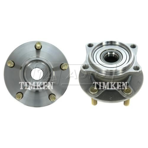 04-08, 10-11 Mitsubishi Endeavour 4WD Rear Wheel Bearing & Hub Assy PAIR (Timken)