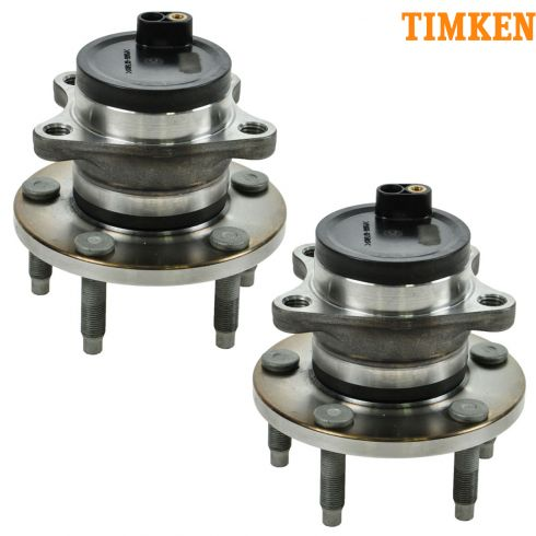 09-10 Ford Edge, Lincoln MKX w/FWD Rear Wheel Bearing & Hub PAIR (Timken)
