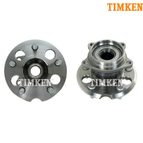 01-05 Toyota Rav4 w/4WD Rear Wheel Bearing & Hub PAIR (Timken)