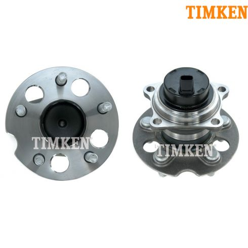 98-05 Toyota Rav4 w/2WD w/ABS Rear Wheel Bearing & Hub PAIR (Timken)