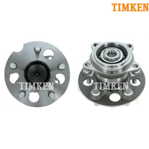 97-03 Toyota Rav4 w/2WD w/o ABS Rear Wheel Bearing & Hub PAIR (Timken)