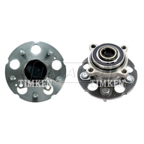 07-11 Honda CR-V; 10-11 Crosstour w/2WD Rear Wheel Bearing & Hub PAIR (Timken)