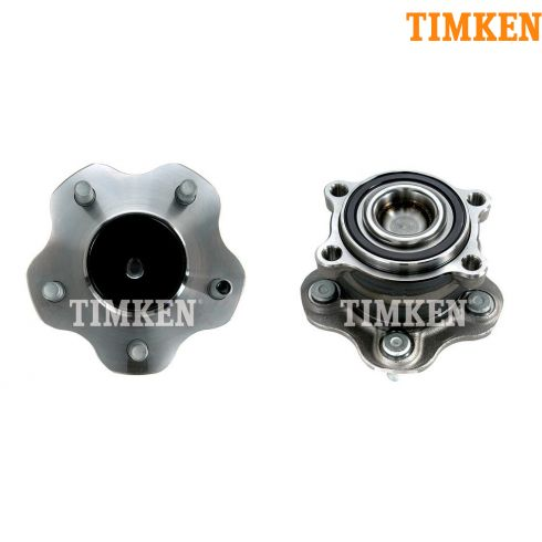 07-11 Nissan Altima; 09-11 Maxima w/ or w/o ABS Rear Wheel Bearing & Hub Assy PAIR (Timken)